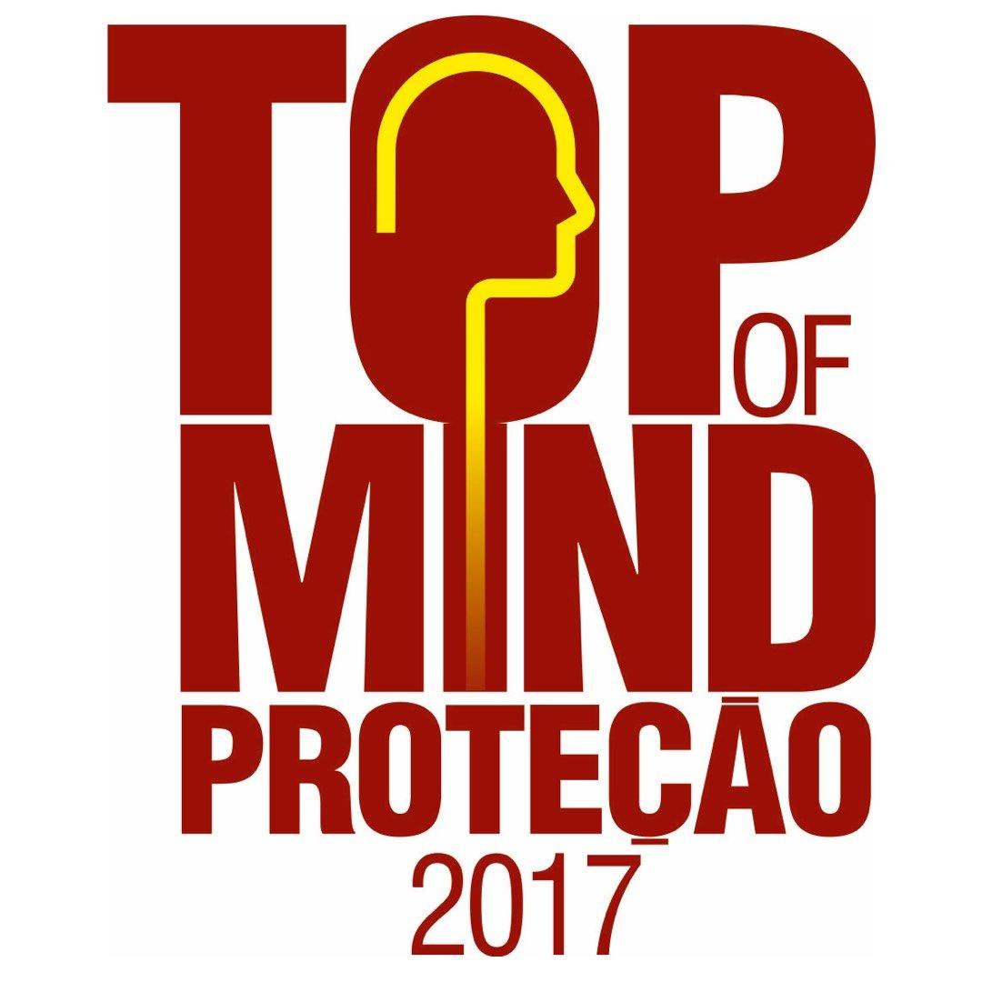 Prêmio Top of Mind em Proteção 2017